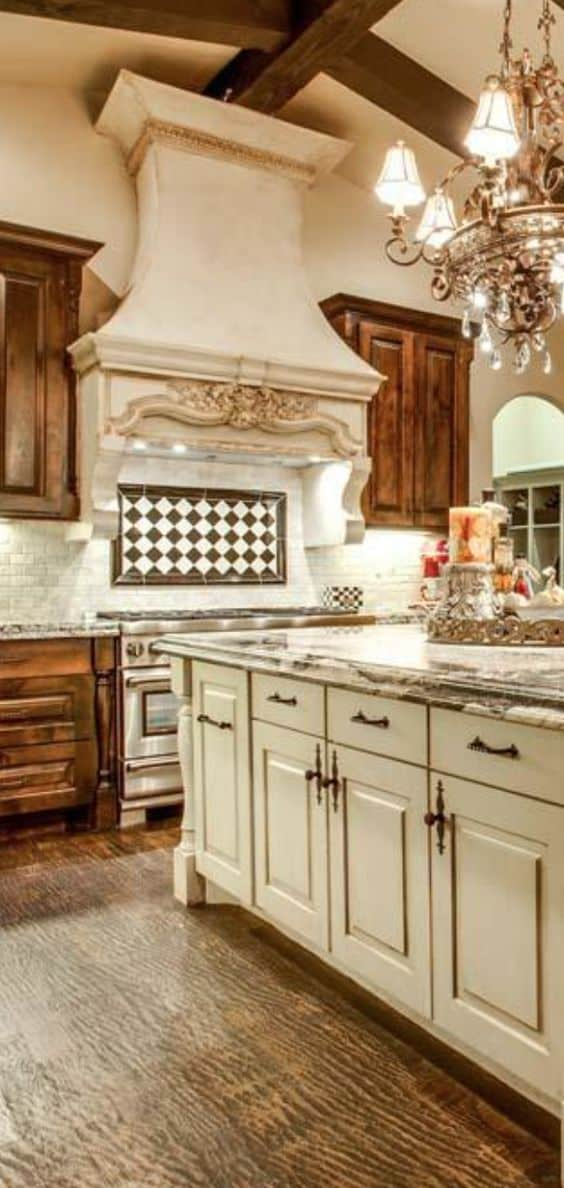 Antique Style Kitchen Cabinets - 28 Antique White Kitchen Cabinets Ideas In 2019 - Liquid Image