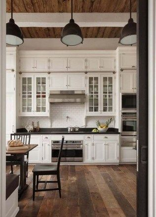 white kitchen cabinets with tile floor 28 Antique White Kitchen Cabinets Ideas In 2019 Liquid Image