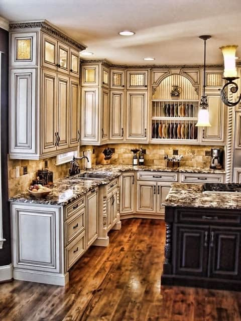 28 Antique White Kitchen Cabinets Ideas in 2019 - Liquid Image on antique gray kitchen, antique painted kitchen, antique gold kitchen, antique brass kitchen, antique old world kitchen, antique olive kitchen, antique yellow kitchen, glossy brown kitchen, antique white kitchen, antique pink kitchen, antique blue kitchen, antique black kitchen, antique rustic kitchen, antique galley kitchen, modern brown kitchen, antique pine kitchen, antique glazed kitchen, antique green kitchen, vintage brown kitchen, antique small kitchen,