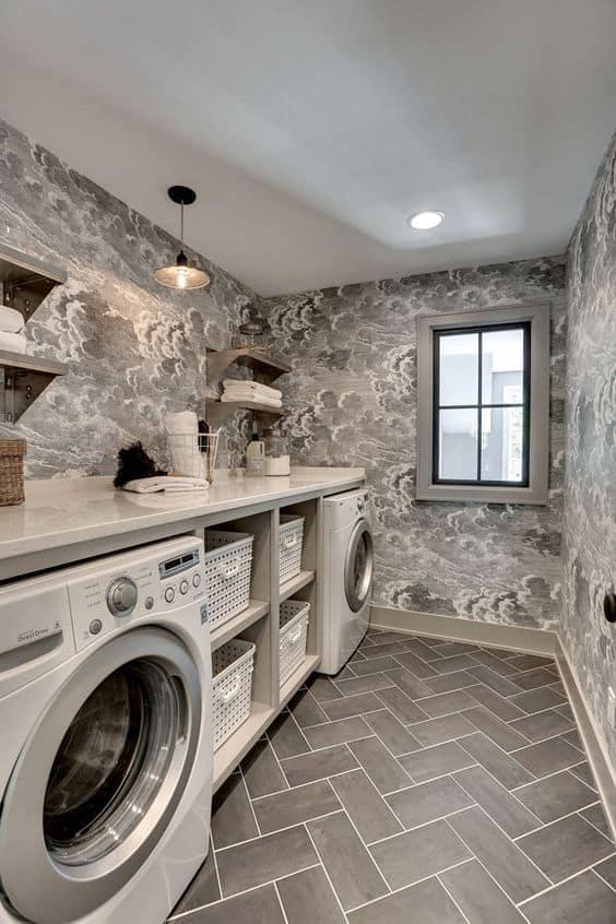 Basement Laundry Room Flooring Ideas