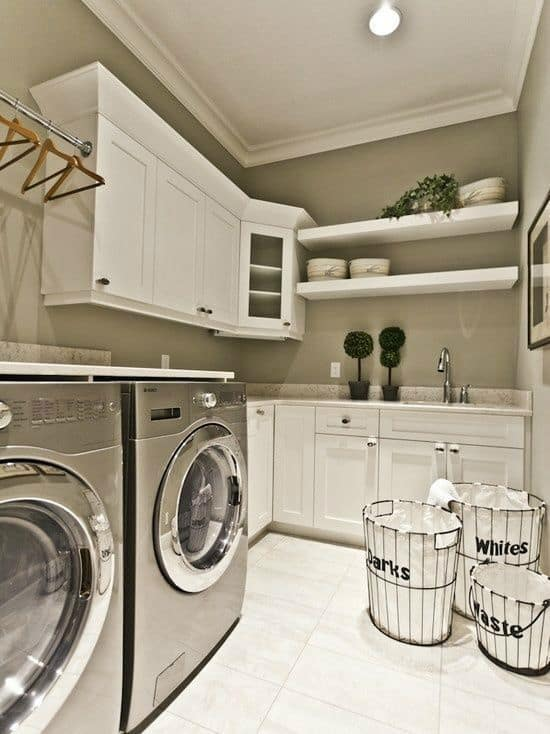 Basement Laundry Room Paint Colors