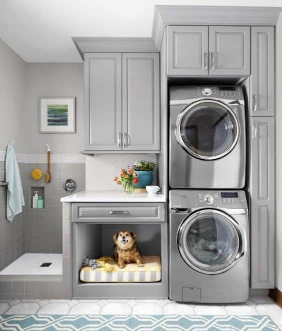 Basement Laundry Room Wall Cabinets