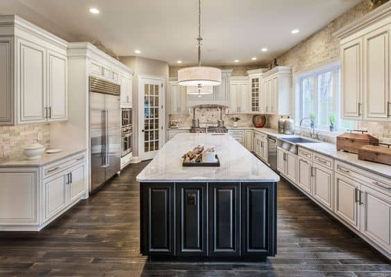 Best Wall Color For Antique White Kitchen Cabinets