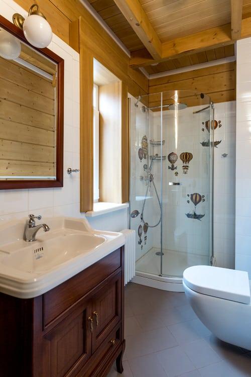 Contemporary Steampunk Bathroom