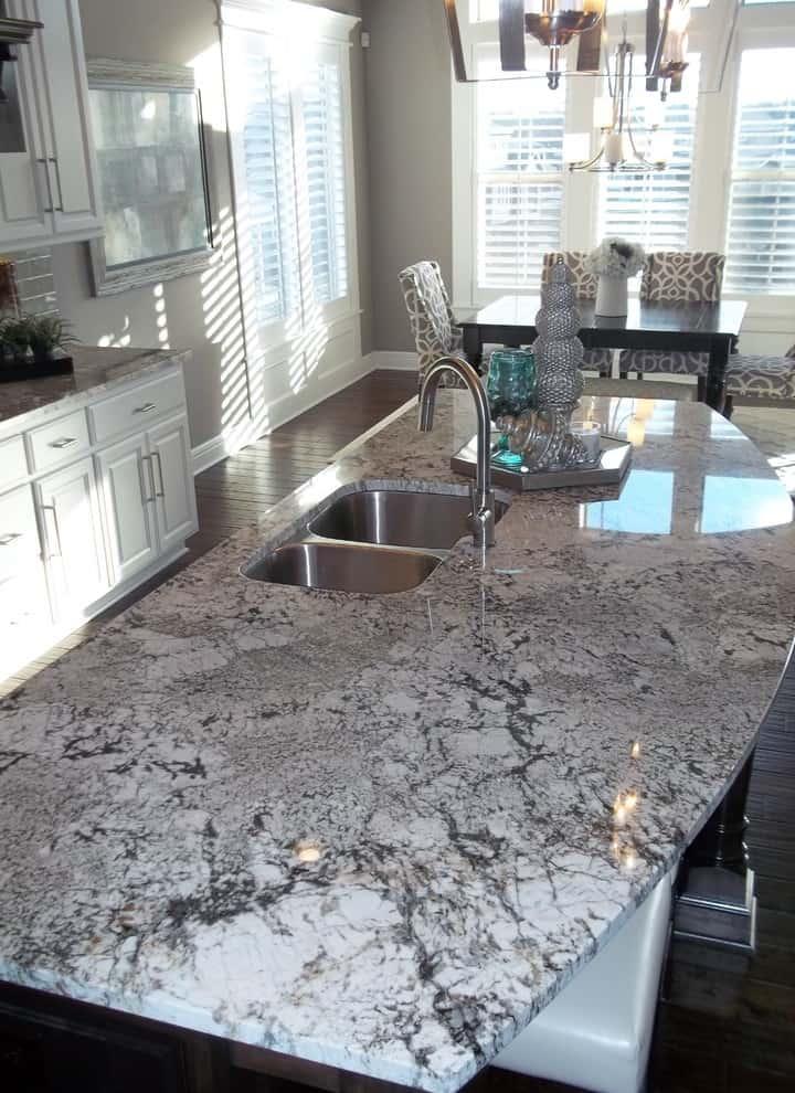 Dark Exodus White Granite Countertop