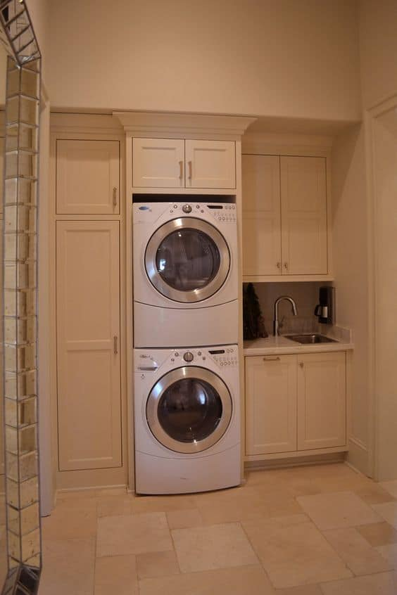 Laundry Room Decorating Ideas Cupboard