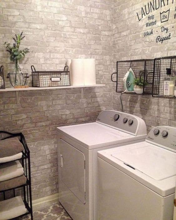 19 Stylish Basement Laundry Room Ideas For Your House