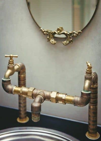 Modern Steampunk Bathroom Faucet