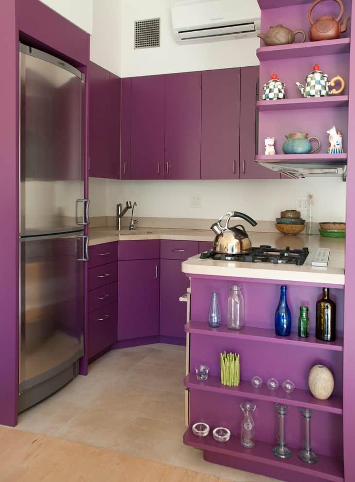 Purple Kitchen Sink