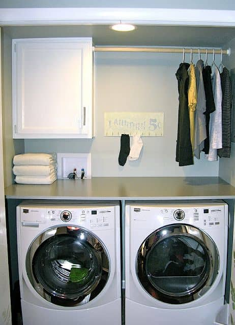 Remodeling Laundry Room Storage Ideas