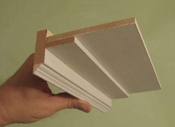 Sculpted Taller Wall Molding (Taller Baseboard Styles)