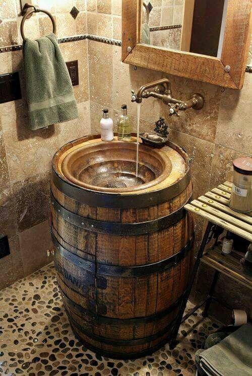 Steampunk Bathroom Sink