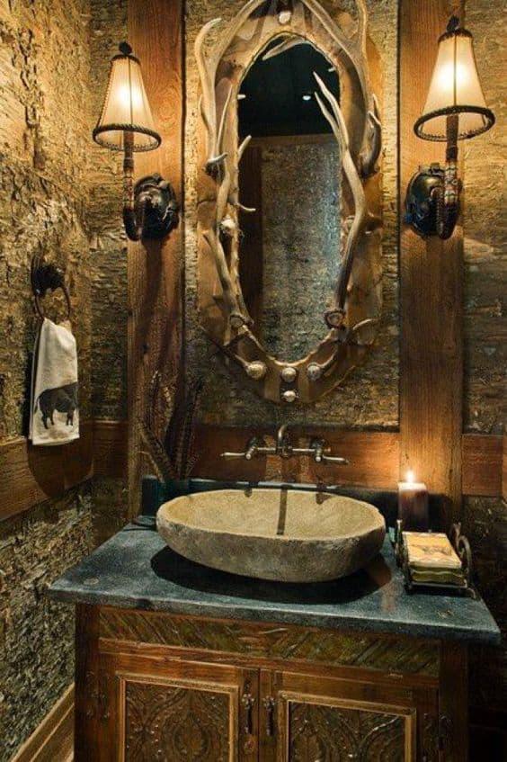 Steampunk Bathroom Vanity