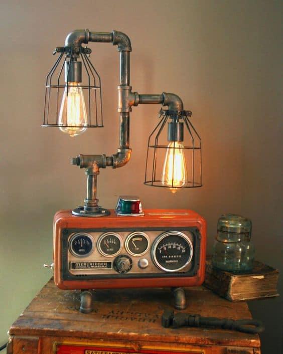 Steampunk Lighting Fixture