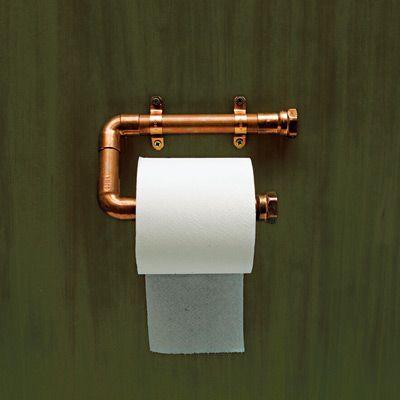 Steampunk Toilet Paper Holder
