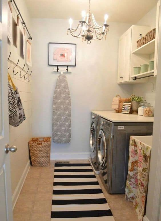 Vintage Basement Laundry Room Ideas